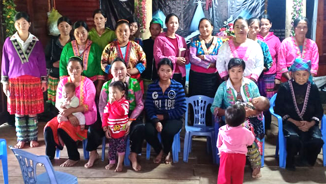 WOMEN'S CONFERENCE IN TRIBAL VIETNAM