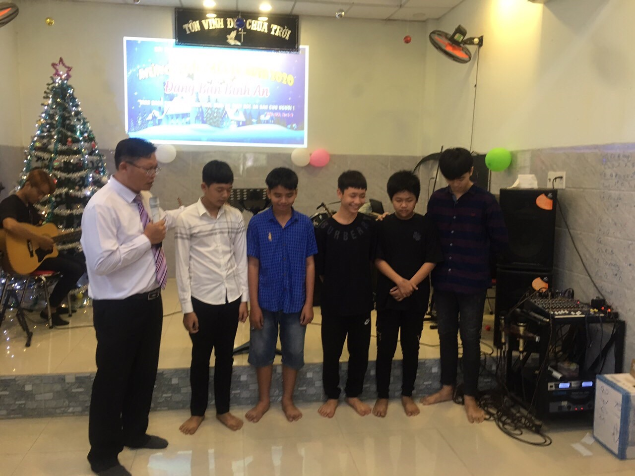 Four New Christians in Mekong Delta
