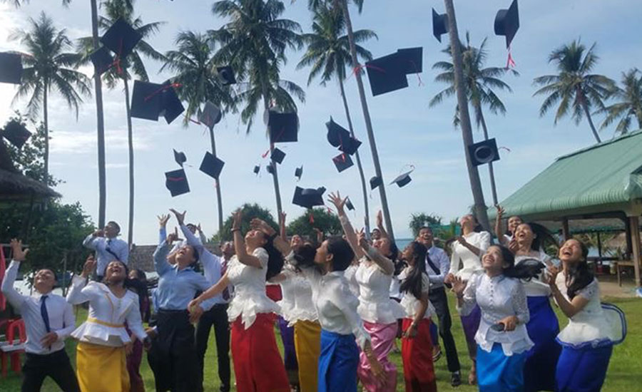 Thirty-Five Students Graduated